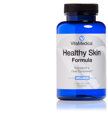 Healthy skin formula the best acne supplement vitamedica for Fish oil cause acne